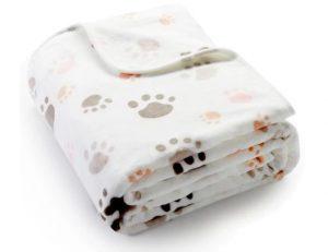 ALLISANDRO Fleece Dog Blanket